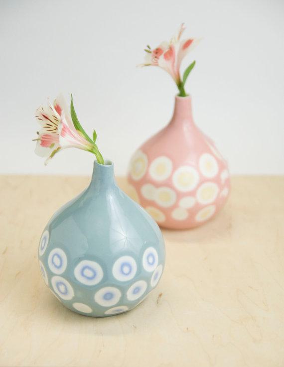 Porcelain Vase, $70