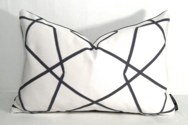 Sew Sample Shop - Geometric Outdoor Pillow, $45