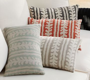 Pottery Barn - Saratoga Outdoor Pillows, $49.50