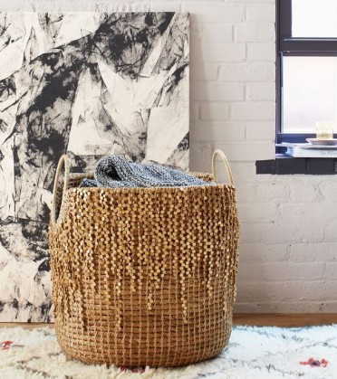 West Elm - Glam Basket, $130 sale)