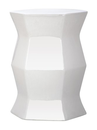 Gilt - Hexagon Garden Stool, $109