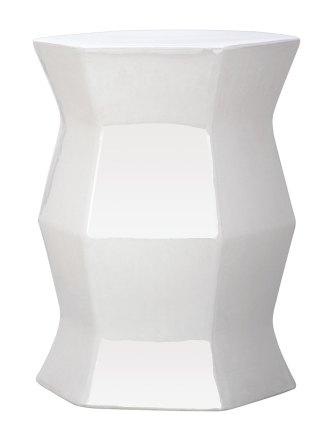 Gilt - Hexagon Garden Stool, $109
