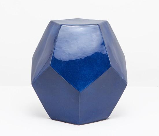 Glorious Garden Stools Blue Bergitt