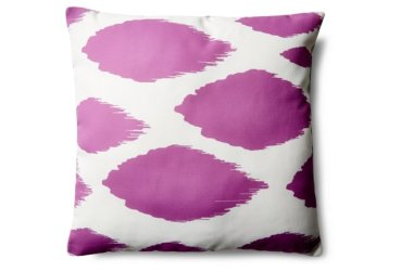 One Kings Lane - Orchid Ikat Dots, $39