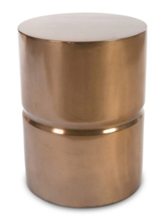 One Kings Lane - Bronze Stacked Garden Stool, $359