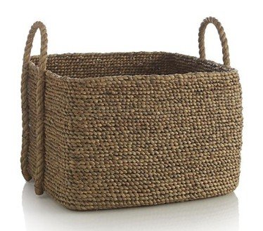 Crate  Barrel - Tyler Basket, $89.95