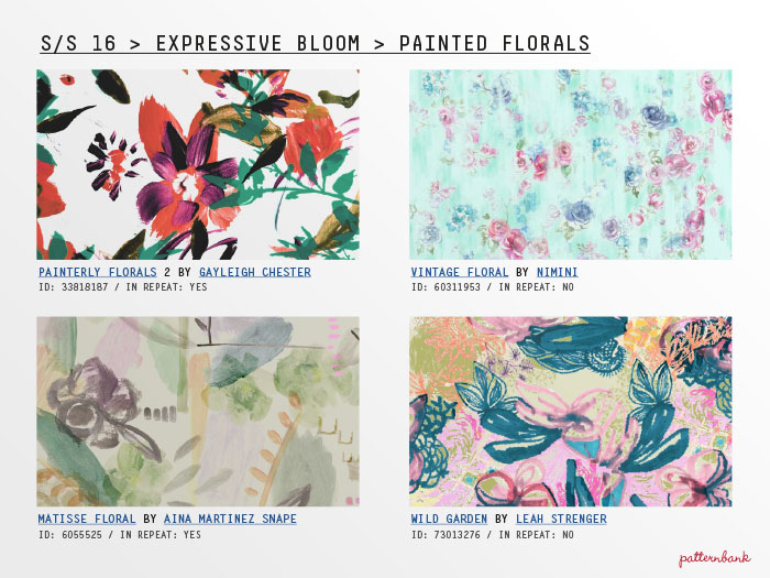 Design Print Trends: Spring Summer 2016 Pattern Trends From Patternbank_part 2