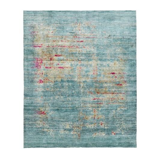 Lumina Silk & Wool Rug, $11,500