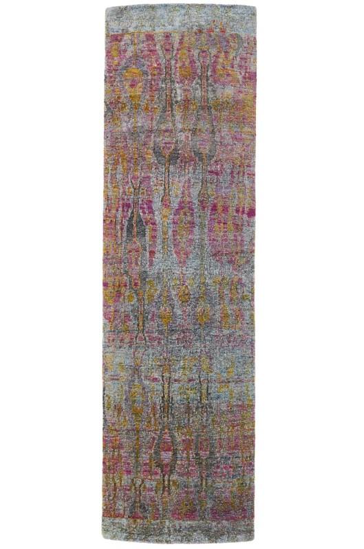 """Ethos Silk Runner 2'11"""" x 10'4"""", $3800"""