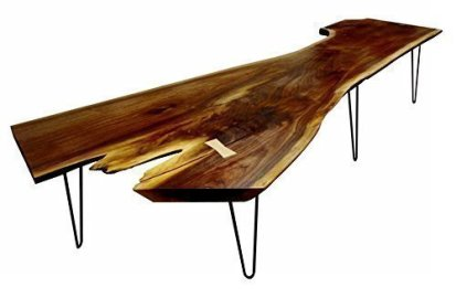 Oat Foundry - Salvaged Walnut Slab Coffee Table, $1400