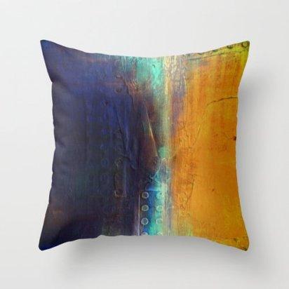 Liz Mo's Loft - Decorative Throw Pillow, $35