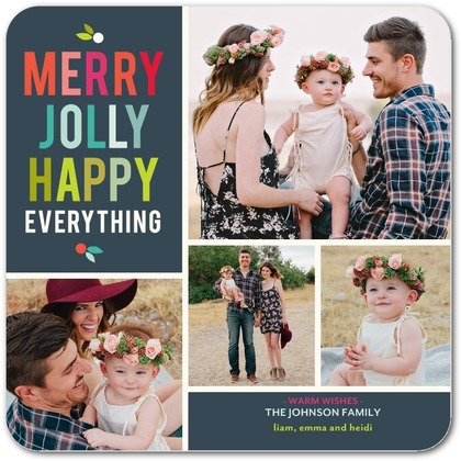 Tiny Prints - Merry Jolly Happy Everything