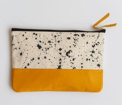 Anna Joyce - Splatter Clutch, $61