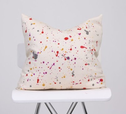 Art Affect Home - Splatter Pillow, $32.50