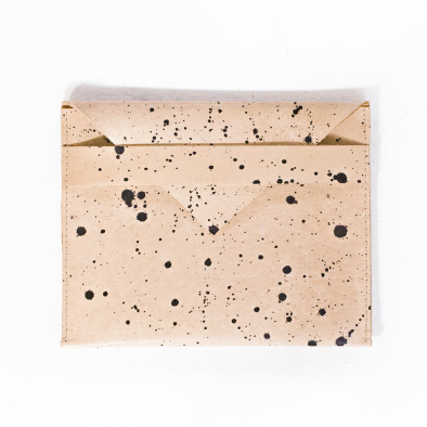 Evens - Splatter Clutch, $55