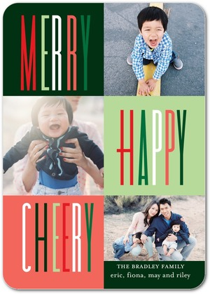 Tiny Prints - Merry Happy Cheery