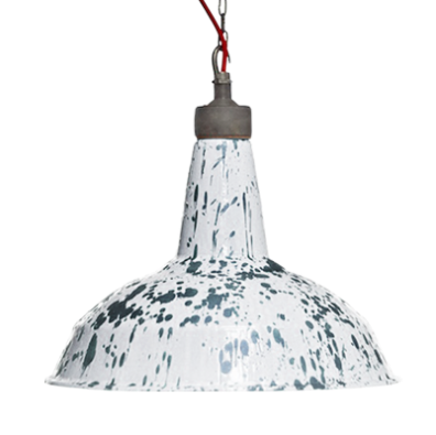 Dyke & Dean - Flying Scotsman Gray Marble English Ceramic Light, £570