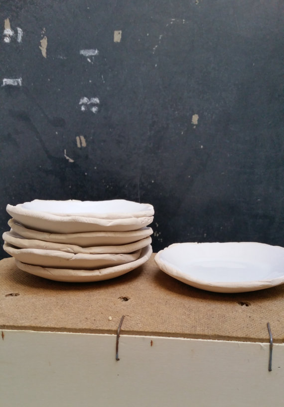White Plate 12 cm, $22
