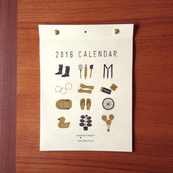 Hirokoyo Shimoto - Wall Calendar, $10