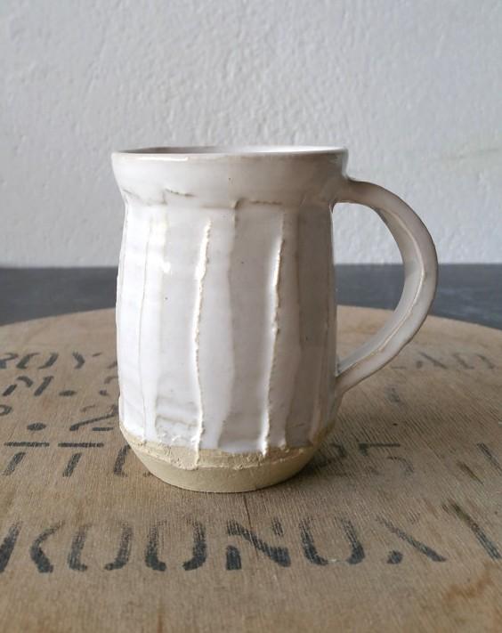 White Mug, $22