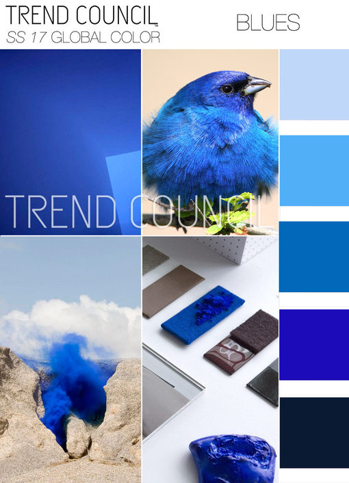 Spring Summer 2017 Color Trends From Trend Council Blue