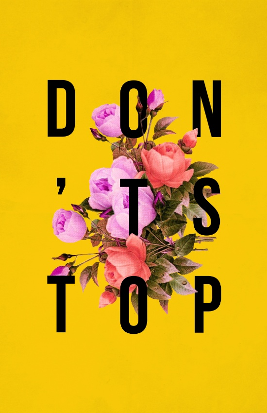 dont-stop-flower-poster-prints