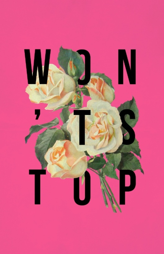 wont-stop-flower-poster-prints