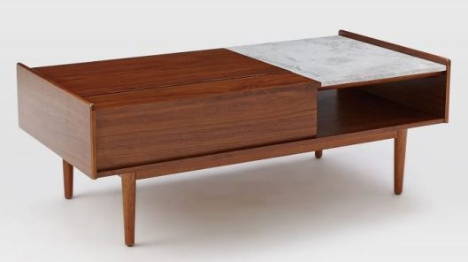 West Elm - Mid-century Pop-Up Table, $599