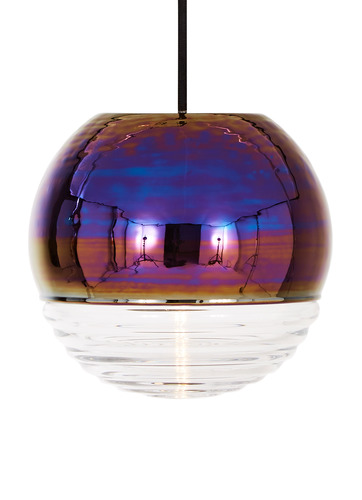 Flask Oil Ball Pendant Light
