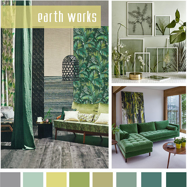 Spring summer 2018 color trends from design options - 2017 pantone view home interiors palettes ...